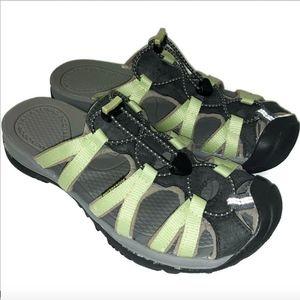 Keen Green Adjustable Slip On Water Sport Sz 9